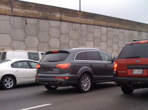 Audi Q7 2011 - Spyshot