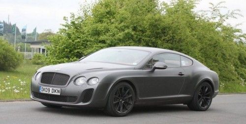 Bentley Continental Supersports (spyshot)