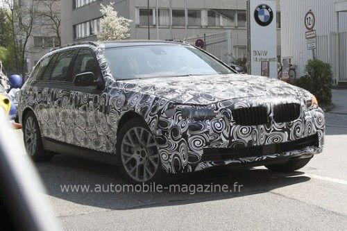 BMW Série 5 Touring 2010 - Prototype
