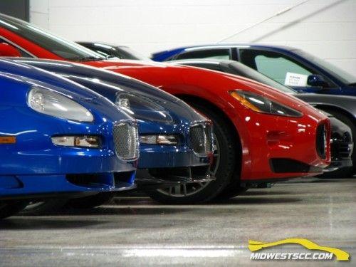 collection de voitures au Michigan