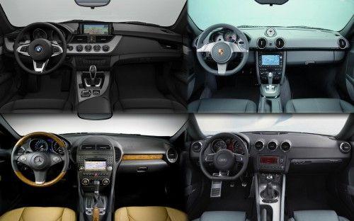 Intérieur BMW Porsche Mercedes-Benz Audi