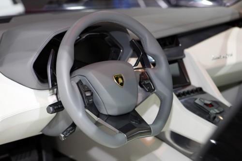 Intérieur Lamborghini Estoque