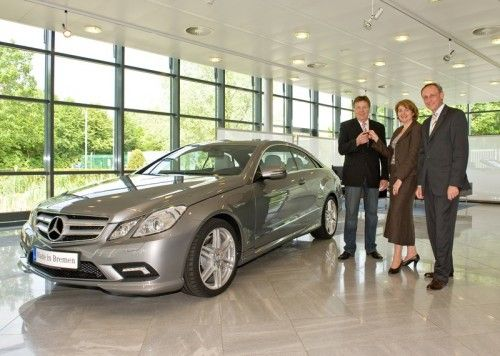 Mercedes Classe E Coupé - Première livraison