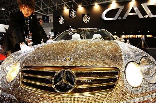 Mercedes et Swarovski
