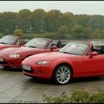 Photo mx 5 trois generations 1989 2005 150x150 Mazda MX 5 2015 : Sous le signe des 4 P !