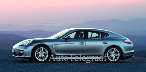 Porsche Panamera - Photo officielle dévoilée par AutoTelegraaf