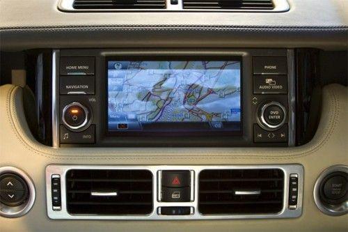 Range Rover 2010 - Planche de bord