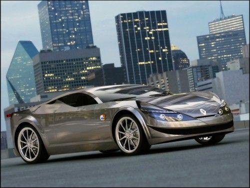 Renault Alpine Concept - rendu