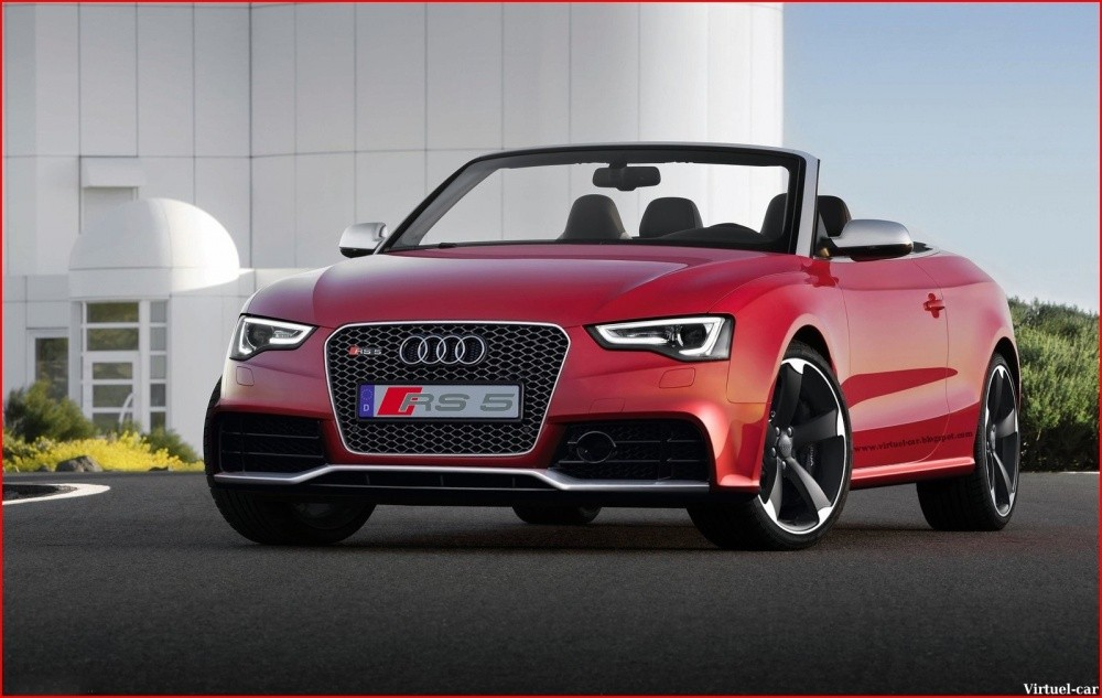 Audi-RS5-Cabriolet-By-Virtuel-car for Blogautomobile