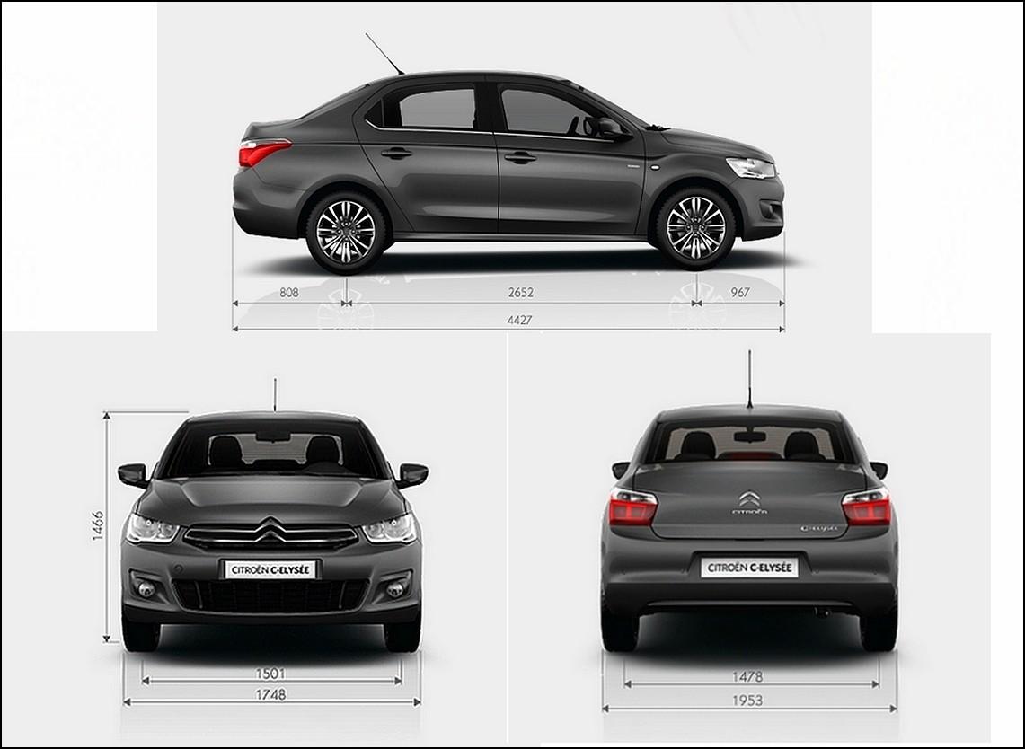 2012 - [Citroën] C-Elysée [M43] - Page 13 C-elys%C3%A9e-dimensions