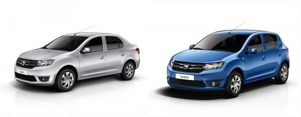 Photo Dacia Logan et Sandero 2013 600x234 Dacia : Les nouvelles Logan et Sandero 2013 sont arrivées [MàJ photos HD]