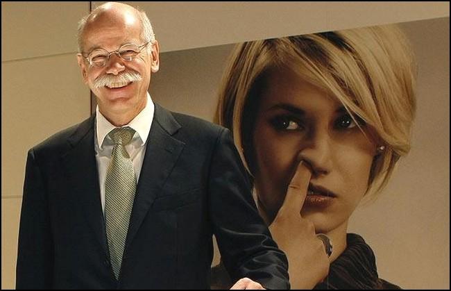 Dieter Zetsche , le riant patron de Daimler AG