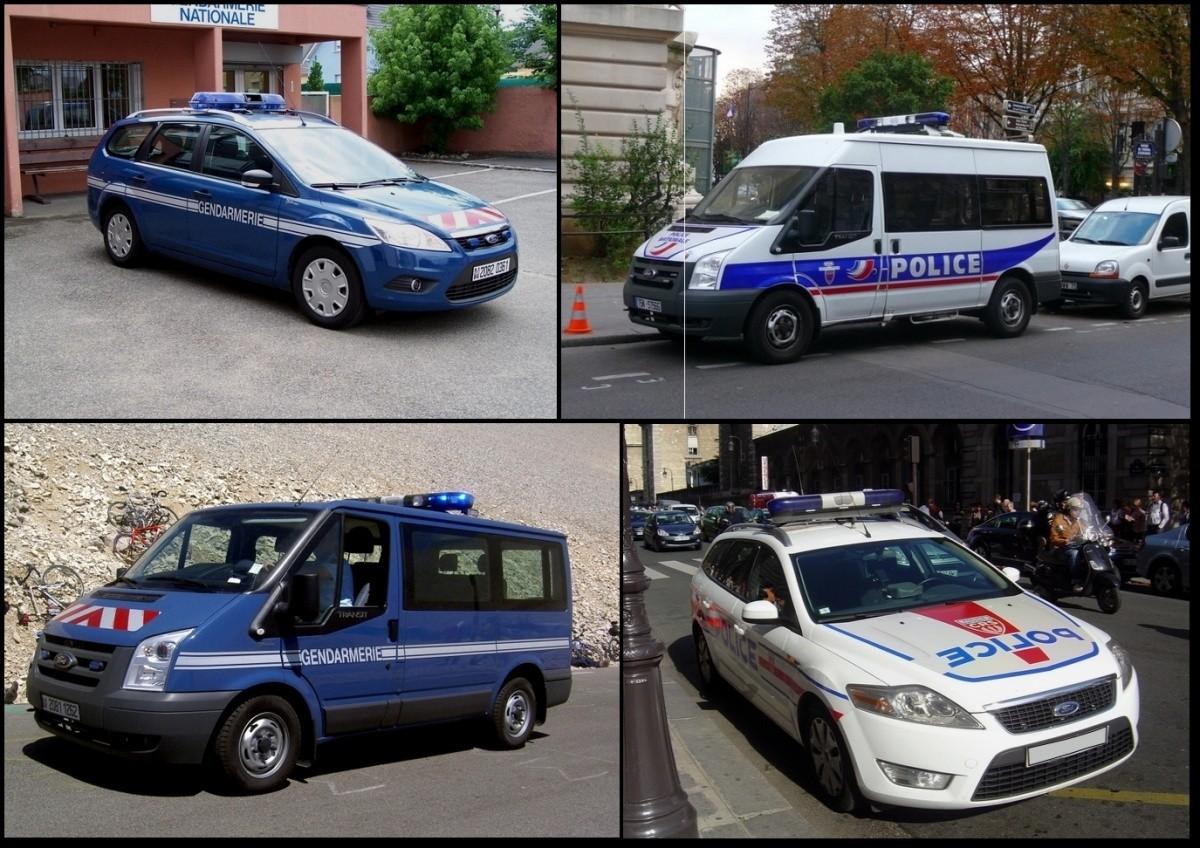 Ford Police et Gendarmerie française