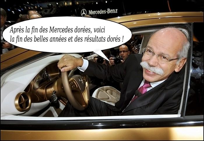 Mercedes Benz baisse ses prévisions pour 2012