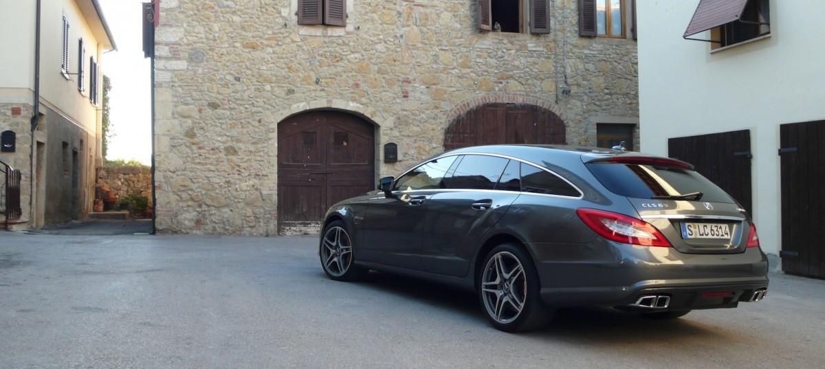 Mercedes CLS Shooting Brake -8