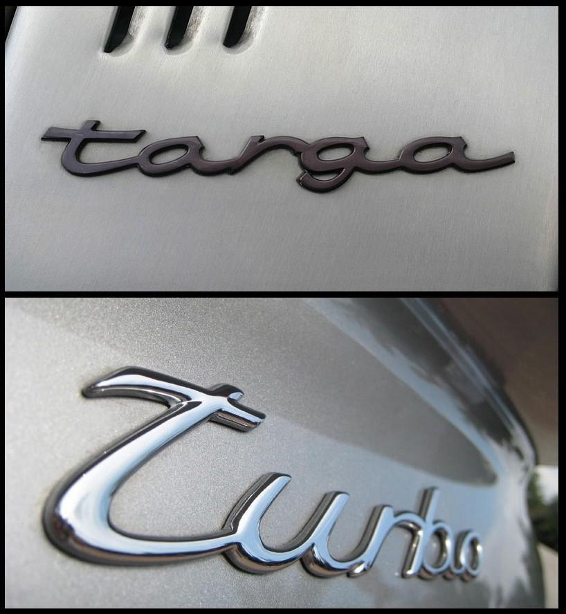 Porsche 911 Targa et 911 Turbo