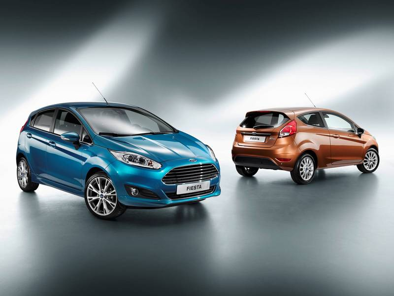 ford fiesta restylée 2013