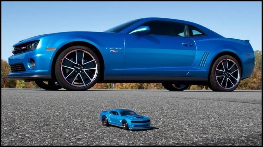 Camaro et Hot Wheels
