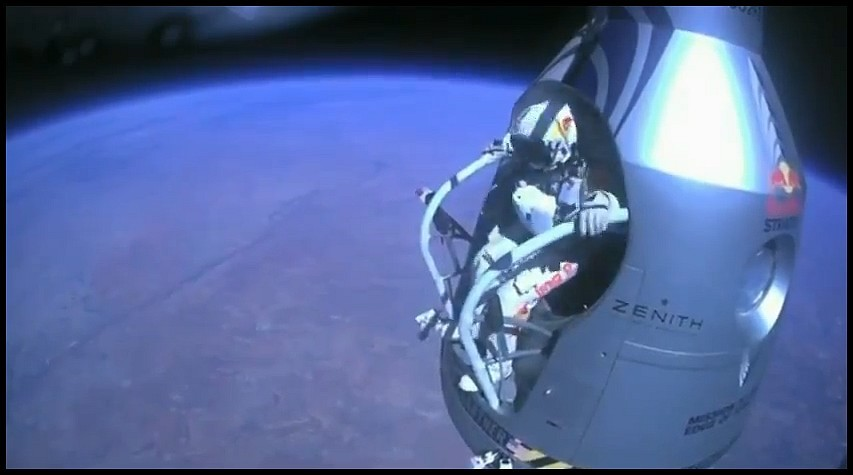 Felix Baumgartner Projet Stratos Red Bull
