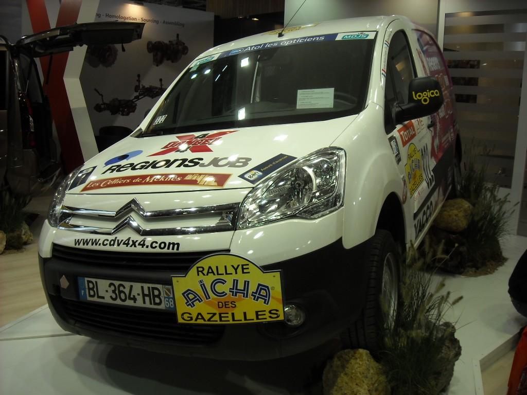 Citroën Berlingo Dangel - Rallye des Gazelles
