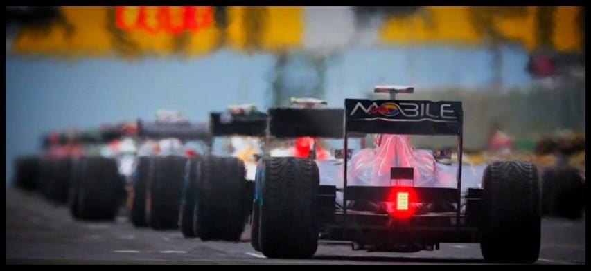 Race in slow motion