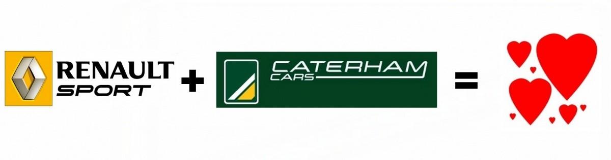 Renault Sport et Caterham ensemble