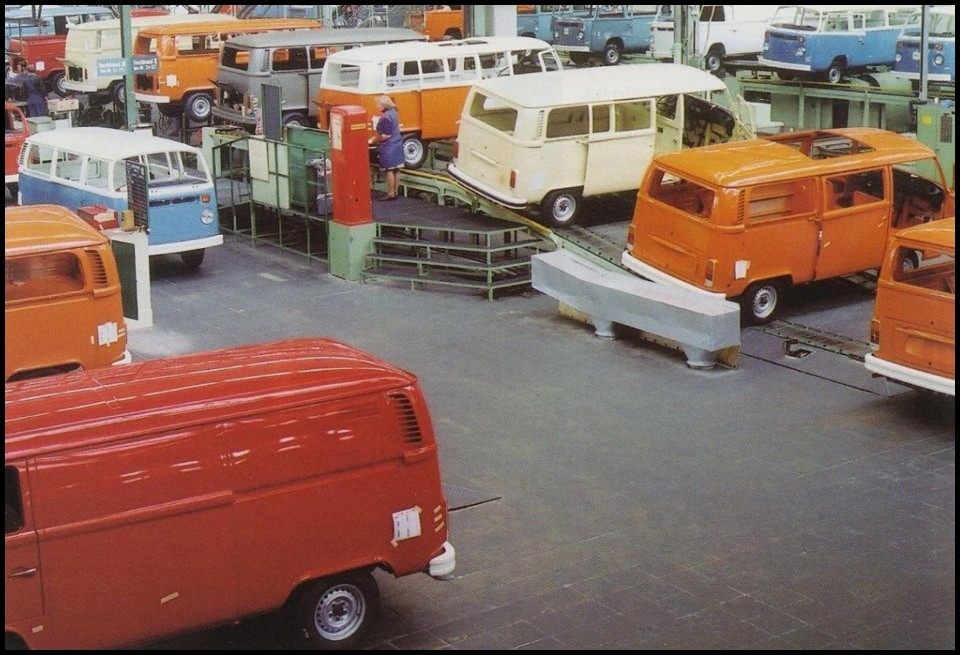 VW Combi production