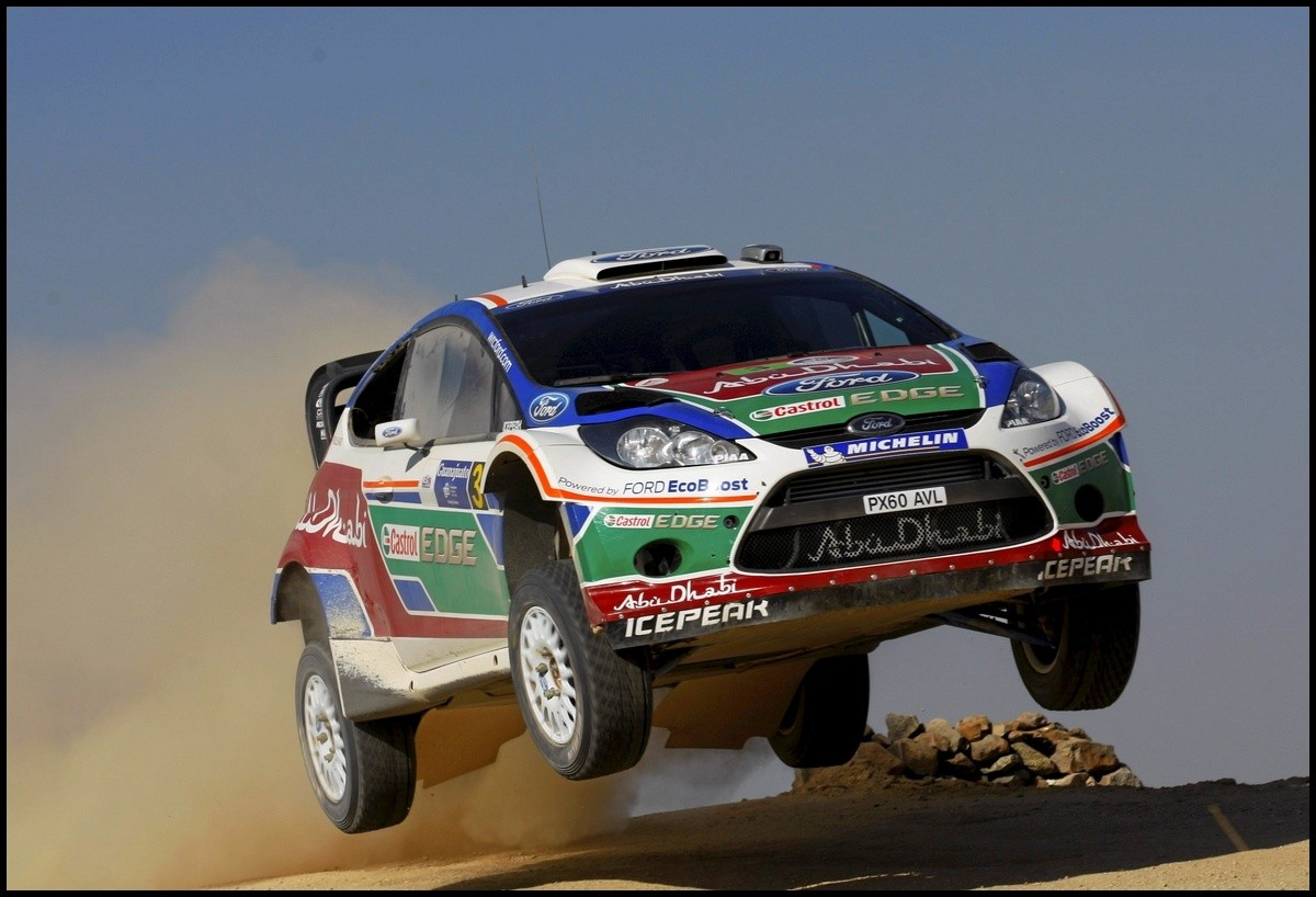 ford fiesta Rally Mexico-Hirvonen Action