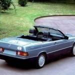 Photo 1988 93 w201 190e cabriolet prototyp 150x150 Mercedes Benz : La Classe A a bien une ancêtre...