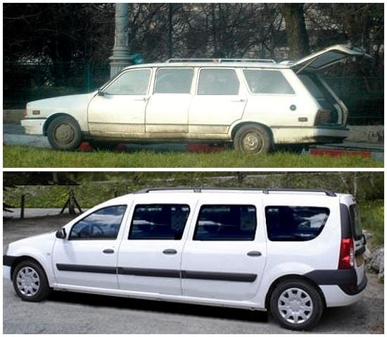 Dacia 1310 et MCV limousine
