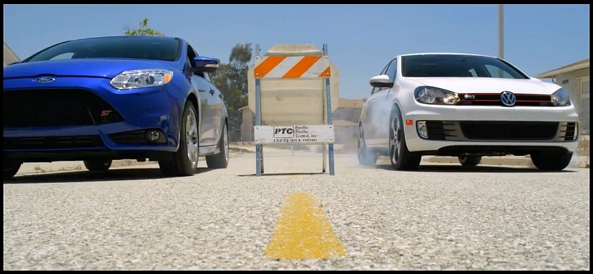 Ford Focus ST vs Golf 6 GTI