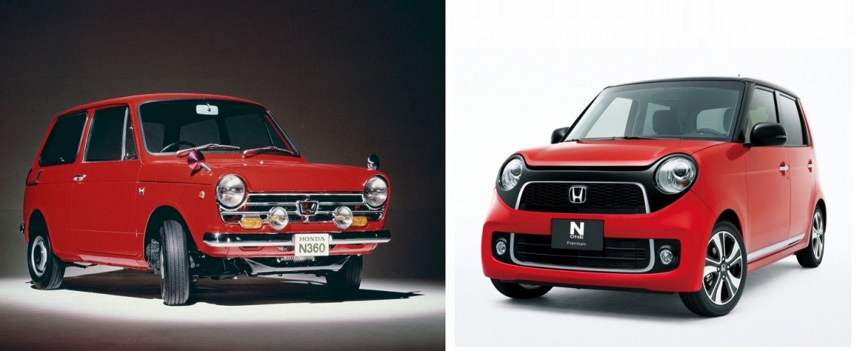 Honda N-One et N360