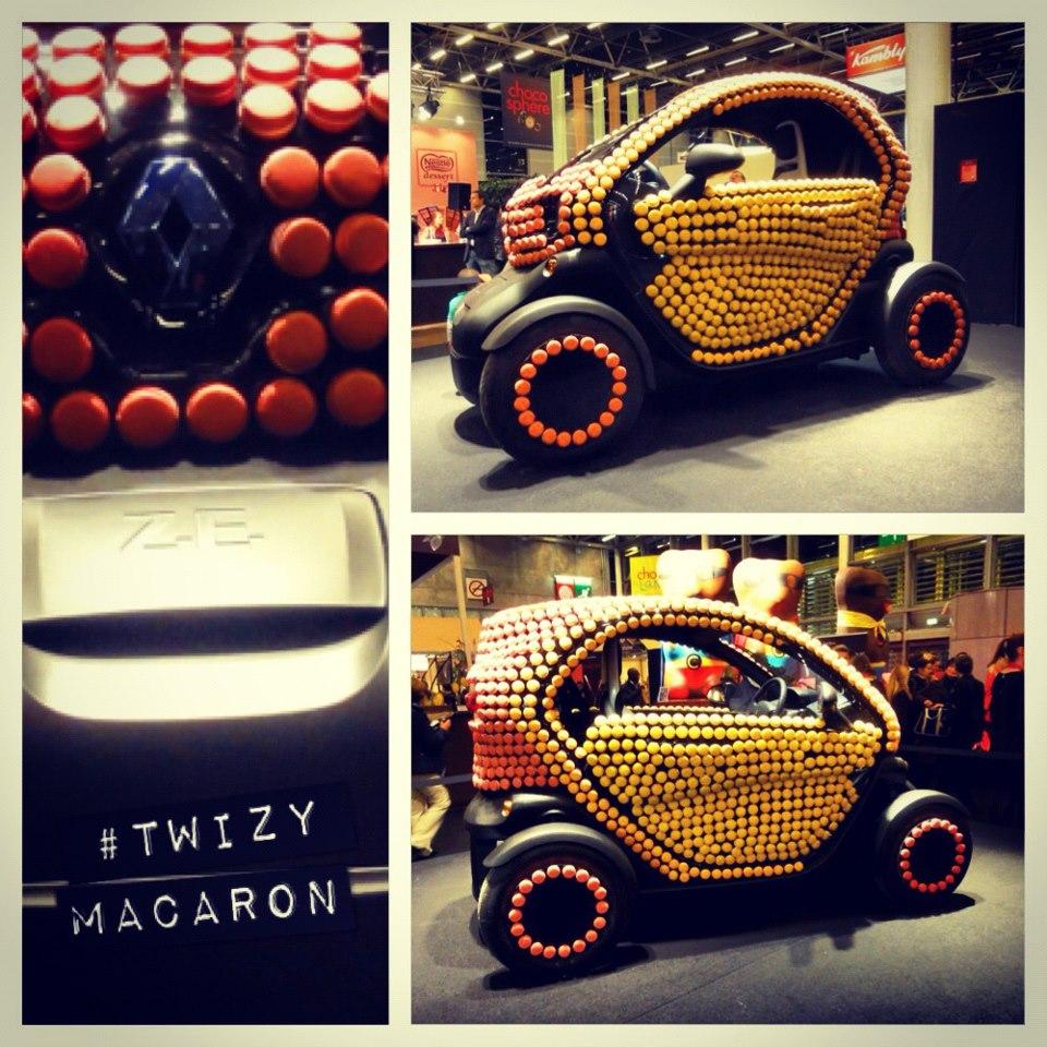Renault Twizy macaron