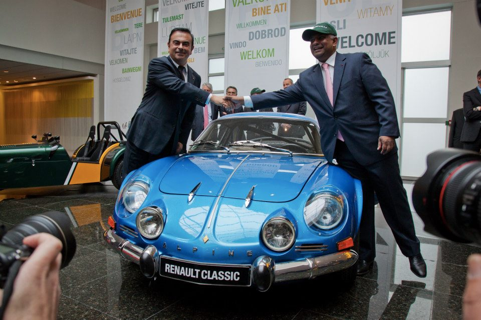 Renault et Caterham s'allient pour Alpine