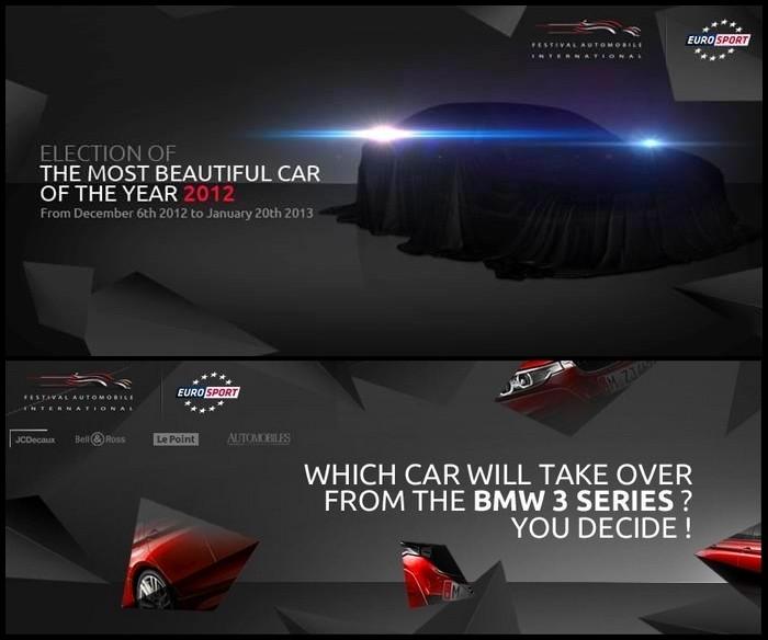 election de la plus belle voiture de l'année