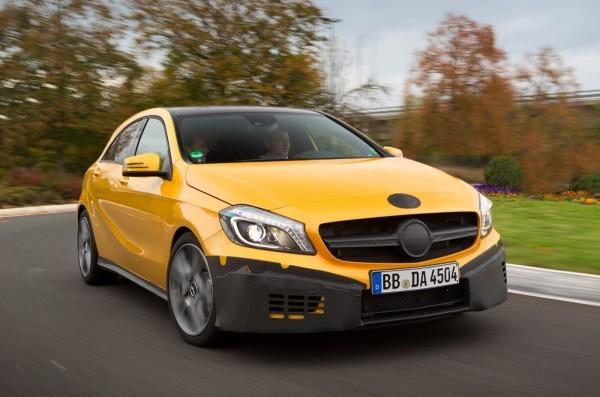 Classe A45 AMG : Spyshots et informations officiels Mercedes-a45-amg-1-600x397