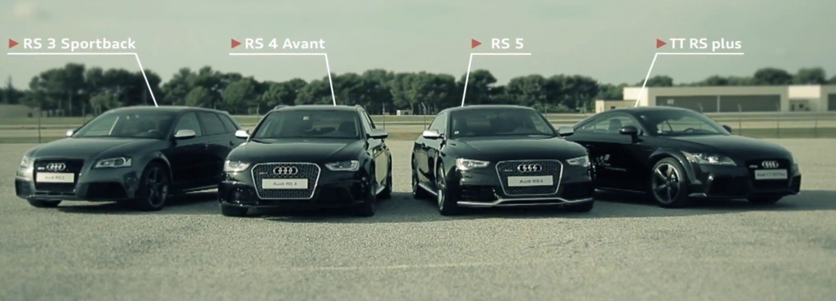 Audi RS Video