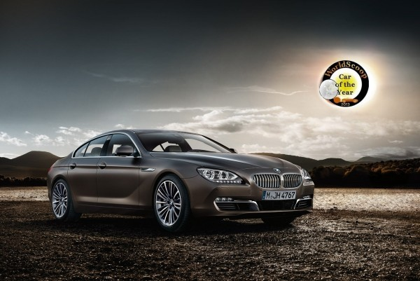 BMW Serie 6 Gran Coupe élue Car of The Year 2013 par Worldscoop