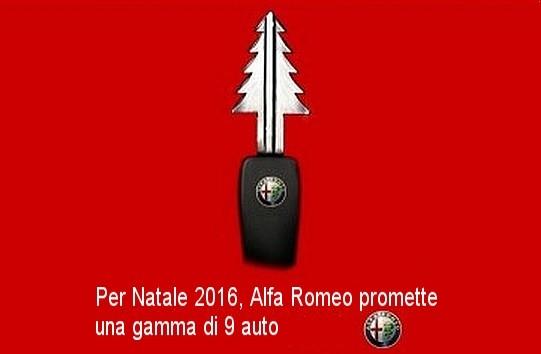 C'est Noël chez Alfa Romeo