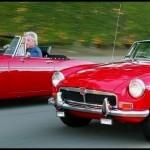 Datsun roadster et MGB
