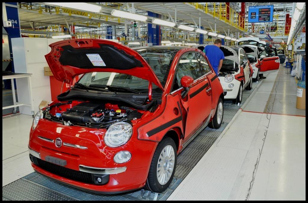 FIAT-500 Fiat Auto Poland - Tychy