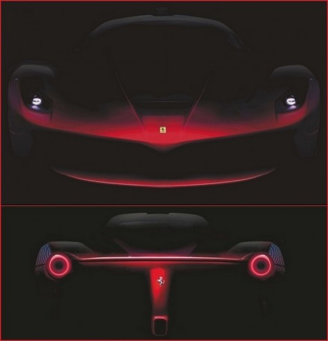 Ferrari F70 arrière 1