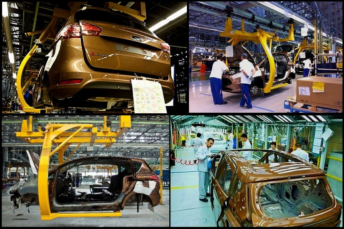 Ford -usine de Craiova -production B-Max