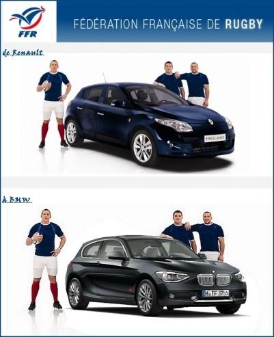 La Fédération Française de Rugby passe de Renault à BMW