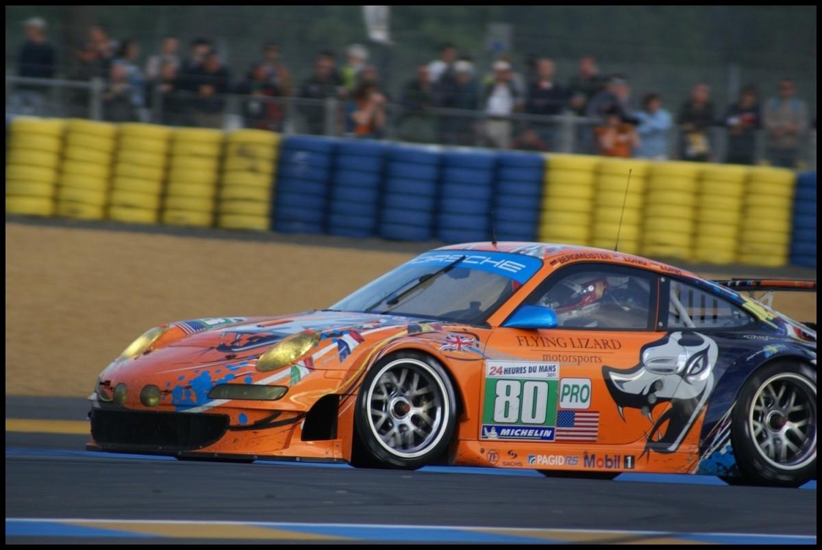 POrsche 911 GT3 RSR LeMans