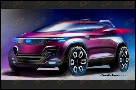 QOROS SUV Concept