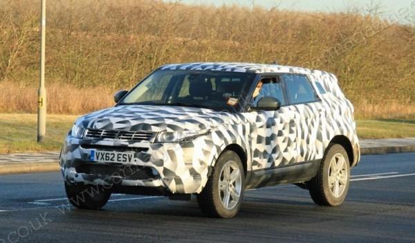 Land Rover : Le Range Rover Evoque prend de la longueur