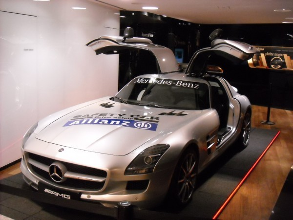 SLS Mercedes F1