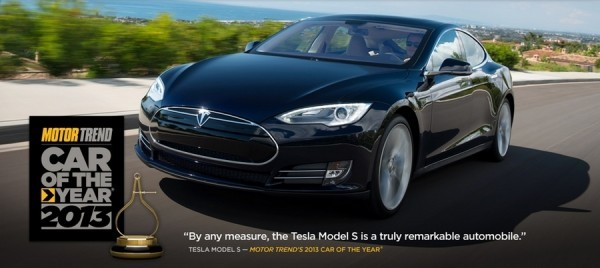 Tesla Model S Car of the Year 2013 by MotorTrend