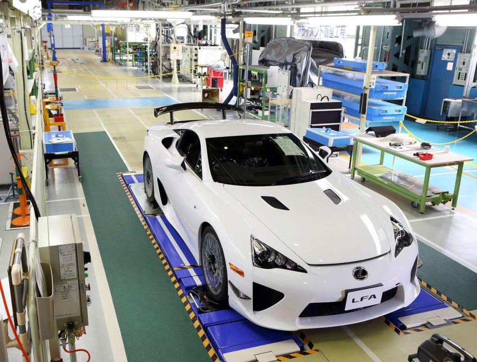 dernière Lexus LFA pack Nürburgring blanche